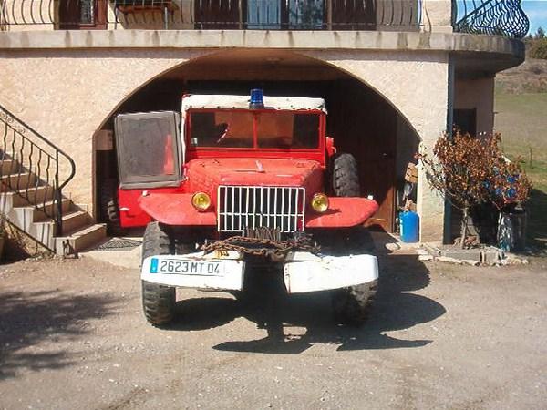 Dodge wc 62 63 pompier for Garage citroen pertuis